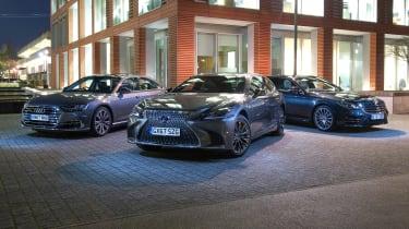 Lexus LS vs Audi A8 vs Mercedes S-Class