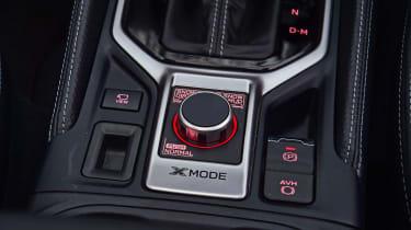 Subaru Forester e-Boxer - centre console