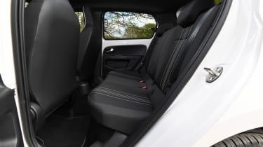SEAT Mii electric - long termer final report rear seats