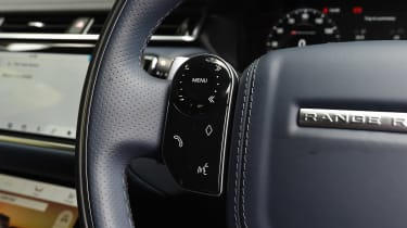 Range Rover Velar - steering wheel detail