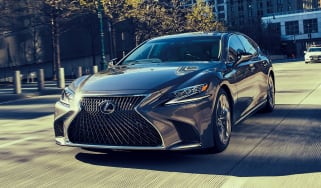 Lexus LS review - front