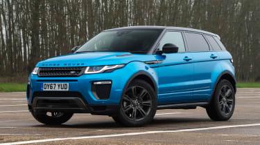 Range Rover Evoque - front