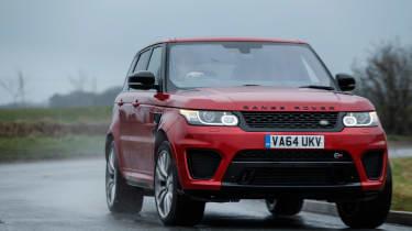 Range Rover Sport SVR - nose