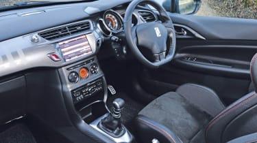 Citroen DS3 Racing interior