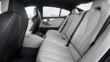 BMW M8 Gran Coupe - back seats