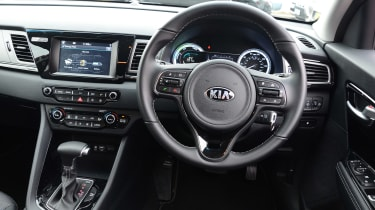 Kia Niro long-term - dash