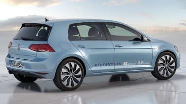 Volkswagen Golf BlueMotion concept rear