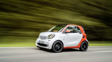 Smart ForTwo - white tracking