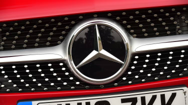 Mercedes A-Class - grille
