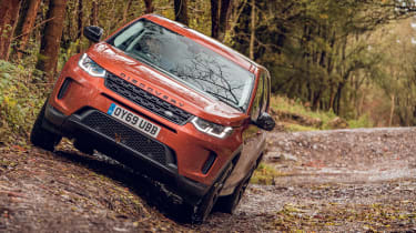 Land Rover Discovery Sport off-road lean
