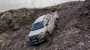 Isuzu D-Max XTR - front tracking off-road hill descent
