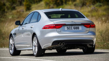 Jaguar XF R-Sport rear action