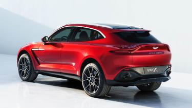 Aston Martin DBX - rear studio