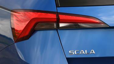 Skoda Scala rear light