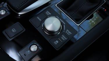 Lexus LS interior detail