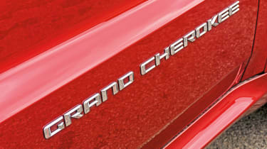 Jeep Grand Cherokee SRT - badge