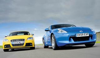 Nissan 370Z vs Audi TTS