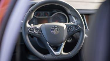 Vauxhall Grandland X Hybrid4 - steering wheel