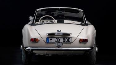 Elvis Presley BMW 507 - rear