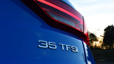 Audi Q3 - rear badge