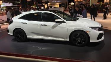 Honda Civic - Paris side profile