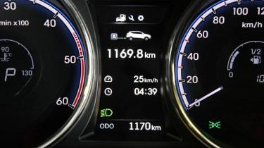 Hyundai ix35 dials