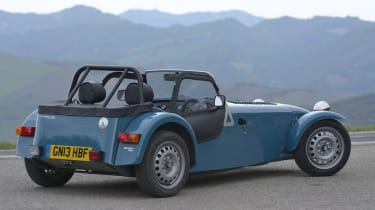 Caterham Seven 160 rear action