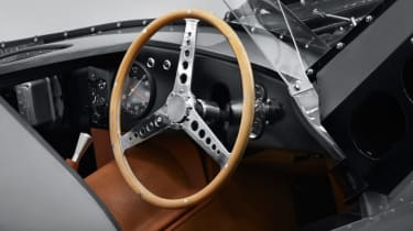 Jaguar D-Type continuation steering wheel