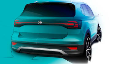 Volkswagen T-Cross - teaser rear