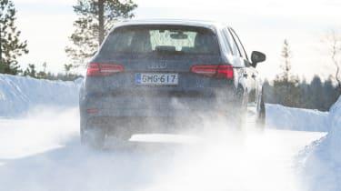 2017/18 winter tyre test - Audi rear