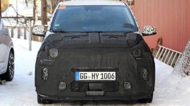 2020 Kia Picanto - spies - front static