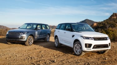 New Range Rover PHEV 2017 review - RR and RRS