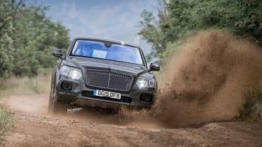 Bentley Bentayga prototype first drive - splash