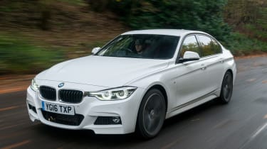 BMW 3 Series - front tracking