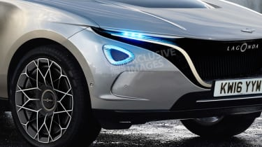 Lagonda SUV - front detail (watermarked)