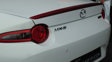 Mazda MX-5 Icon - rear detail Goodwood