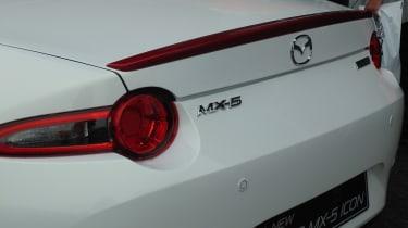 Mazda MX-5 Icon - rear detail Goodwood