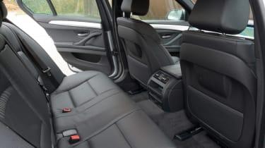 BMW 5 Series saloon 2013 rear seats