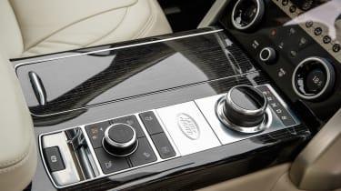 Range Rover PHEV - centre console