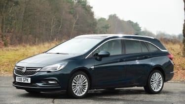 Vauxhall Astra ST - front static
