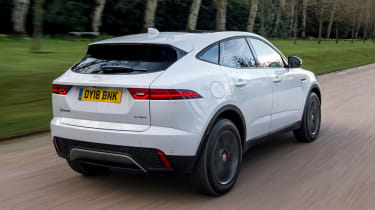 Jaguar E-Pace - rear tracking