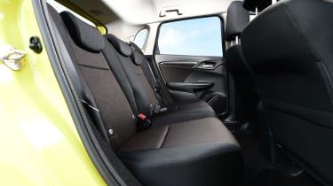 Honda Jazz - rear seats