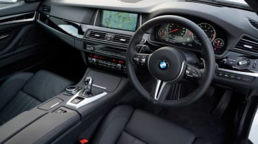 BMW M5 Competition Pack interior