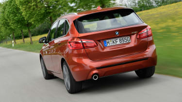 BMW 2 Series Active Tourer facelift - rear