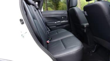 Mitsubishi ASX - rear seats
