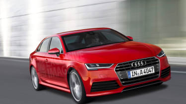 Audi A4 2015 exclusive pic - front