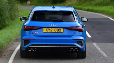 Audi S3 long termer - first report rear action