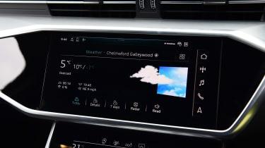 Audi A6 Avant 40 TDI long termer - weather