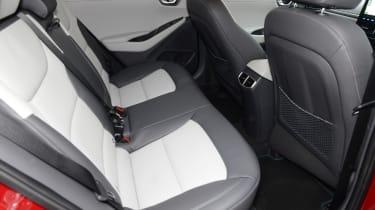 Hyundai Ioniq - rear seat