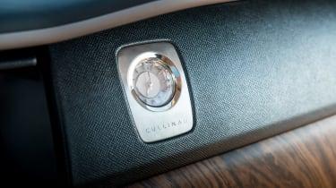 Rolls-Royce Cullinan - clock